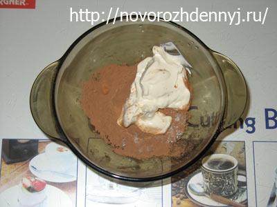 шоколадная помадка для печенья