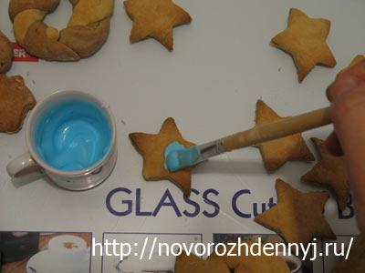 цветная глазурь для печенья