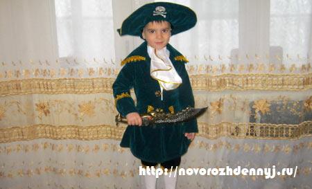 2ad0cddbac3 Детский костюм пирата своими руками - Карнавальный костюм пирата