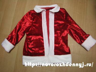 курточка для санты сшить