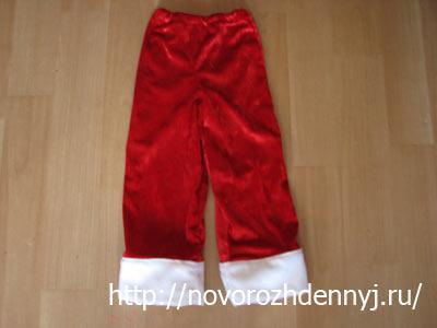 готовые штанишки для санты