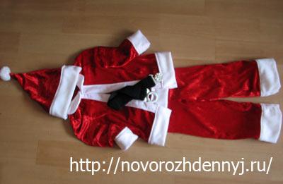 Выкройка костюма санта клауса своими руками фото 890