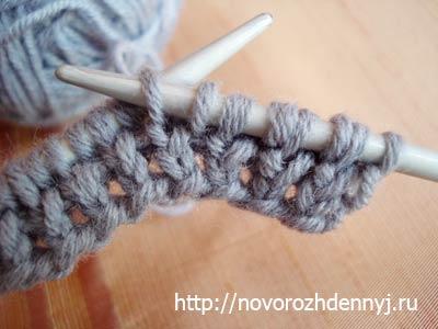 схемы узора для шарфа