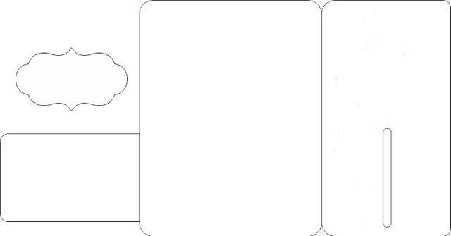 схема для распечатки открытки