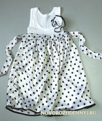 сшить платье для девочки за 1 час