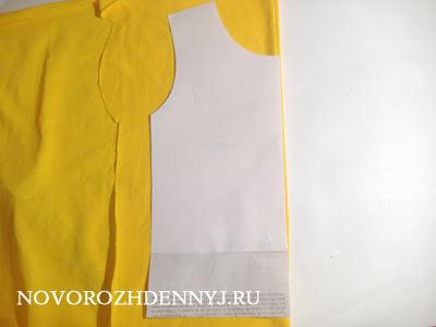 Как сшить футболку без рукав