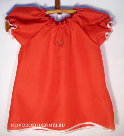 детское летнее платье с выкройкой