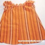 платье для прогулок из рубашки