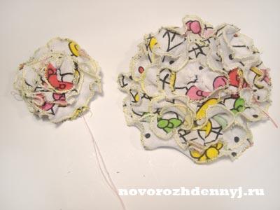 два цветочка для детской маечки