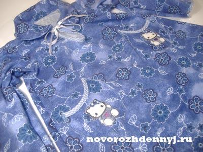 теплое платье Василек