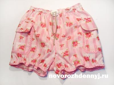 детские шорты выкройка
