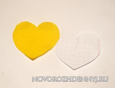 сердечки аппликация