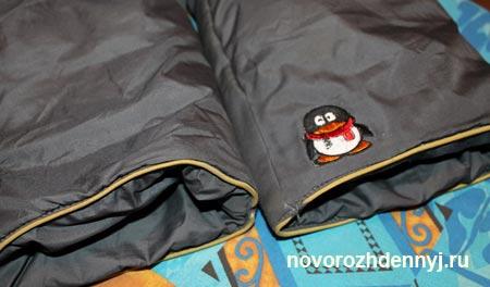 аппликация на штанах