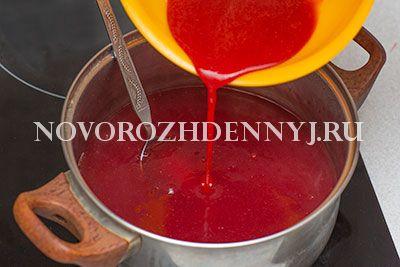 клубничный кисель рецепт