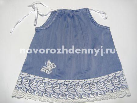 Как сделать ребенку платье своими руками