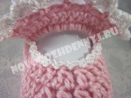 вязание пинеток крючком для девочки