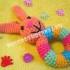 мягкая игрушка погремушка крючком