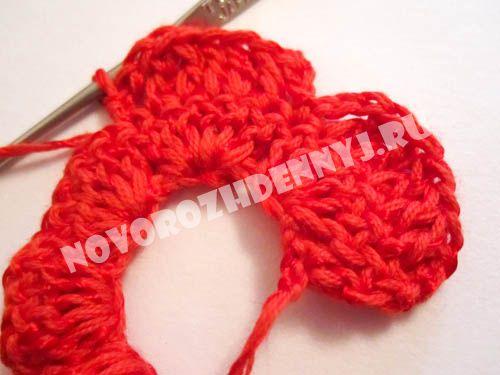 Вязанный ободок на голову крючком для девочки - ободок с ...