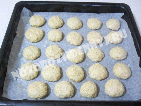 домашнее овсяное печенье для детей
