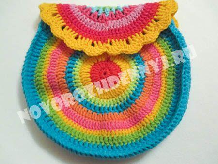 сумочка для девочки крючком