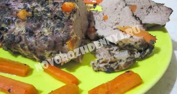 свинина запеченная в духовке в фольге