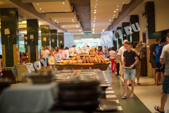 Столовая-Ресторан в отеле hedef resort & spa