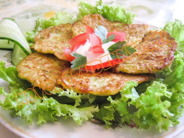 Драники из кабачков и картофеля в духовке рецепт пошагово 75