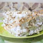 домашний торт со сметанным кремом
