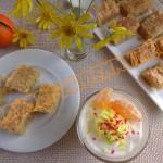 апельсиновый мусс со сливочным печеньем