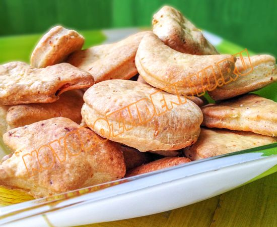 морковное печенье с яблоком для детей