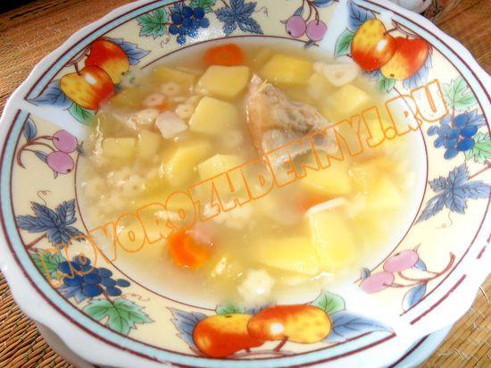 детский овощной суп со звездочками