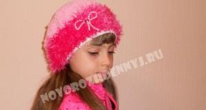 шапочка из травки крючком для девочки
