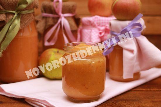 фруктовое пюре на зиму для грудничка