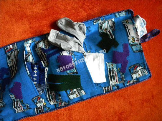 карман на шкафчик в детском саду