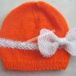 шапочка спицами для девочки