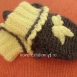 варежки для ребенка 1 год