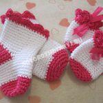 детские носочки крючком