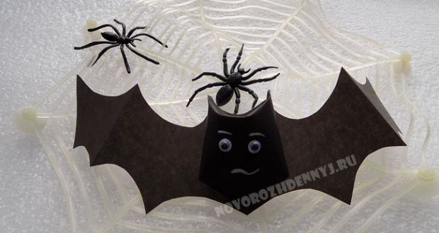 Поделка из бумаги на хэллоуин своими руками фото 769