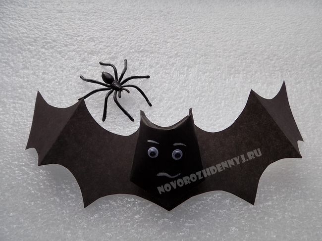 Поделка из бумаги на хэллоуин своими руками фото 879