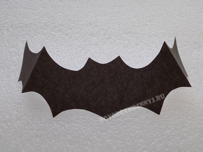 Поделка из бумаги на хэллоуин своими руками фото 863