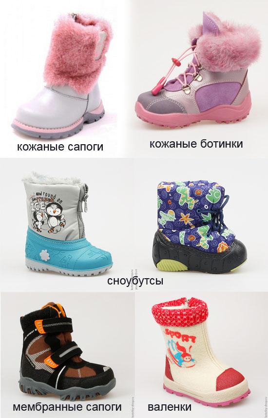 494b83cec Выбор того или иного вида зимней обуви зависит от того в какой  климатической зоне вы проживаете. А так же от предпочтений родителей, так  как вся обувь имеет ...