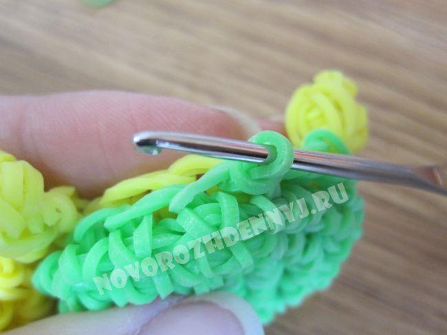 Вязание из резинок крючок 119