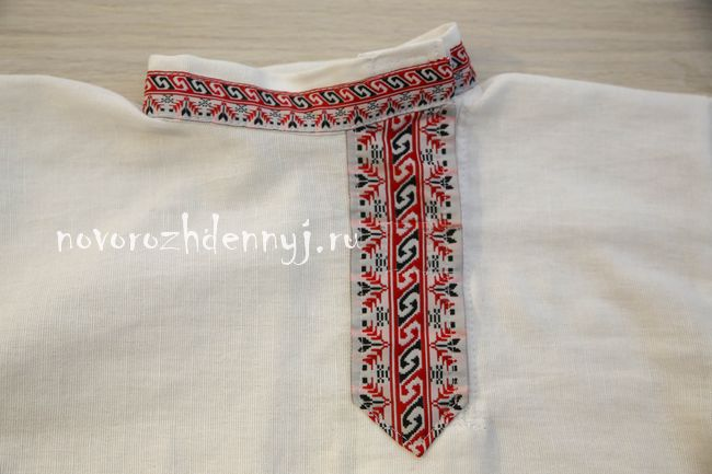 рубаха в русском стиле косоворотка