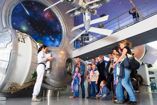 День рождение в музее космонавтики