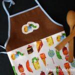 детский фартук для кухни